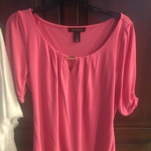 White House black market Pink Top